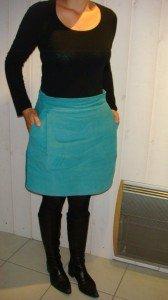 Aime comme Midinette ...... en turquoise !!! dans couture femme dsc04950-168x300